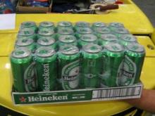 Fresh Today stock 250ml Heinekens beer bottles ready to supply a