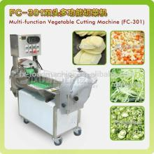 vegetable cutting machine for leaf and root vegetable