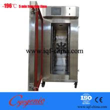 Cabinet cryogenic freezer