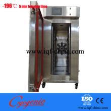 Cabinet cryogenic freezer