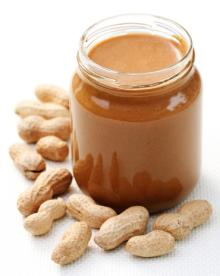 peanuts and peanut butter.