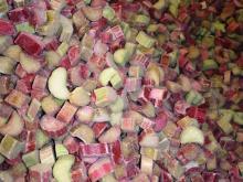 IQF Rhubarb - new crop 2017