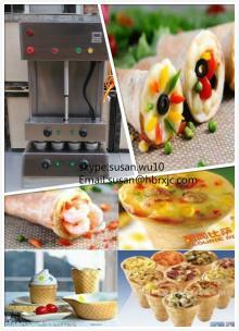cone pizza machine
