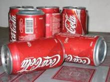 Coca cans & Cola 330ml soft drinks for sale