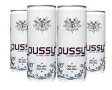 The Pussy Natural Energy Drink