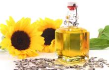 Refined high grade Sunflower oil