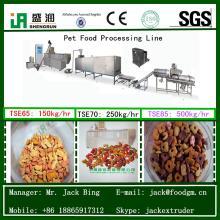 Dog food extruder machinery