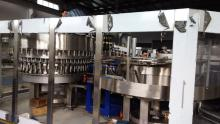 Automatic mineral water bottling line