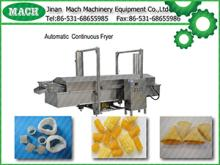 snacks Automatic Continuous fryer