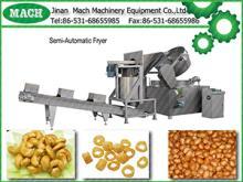 food snacks Semi-Automatic Frye machinery