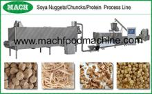 textured soy protein Soya protein food extrusion processing line