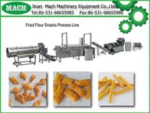 Fried wheat flour chips food production line