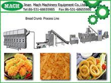 organic panko bread crumbing processing line