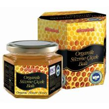 Natural Organic Certified Honey 450 gr Glass Jar