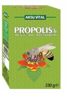 Royal Honey Propolis Honey and Herbs Paste 230 gr with Royal Jelly, Honey, Propolis Bee Pollen