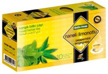 Mint and Lemon Balm - Mixed Tea Natural Herbal Fruit Flavour Teabags