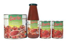 500 gr and 3 kg Passata tomato puree for pizza canned in Italy