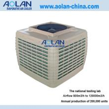 Airflow 18000m3/h evaporative air cooler top discharge