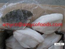 Tilapia Fillet skinon good price