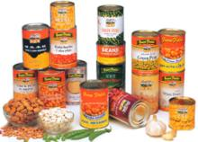 Canned food / Canned beans