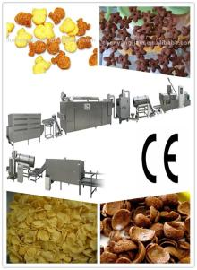 Automatic corn flakes food machine production line