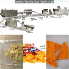 Fully tortilla chips doritos machine processing assembly line with fryer