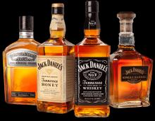 JACK DANIEL WHISKY ALL BRANDS