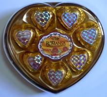 12PCS Heart box peanut Chocolate 150g
