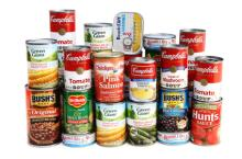Tinned Tomato Paste, Canned Beans, Canned Corn