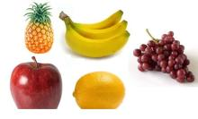Fresh Fruits Apples, Avocadoes, Bananas, Cherries, Citrus fruits, Grapes,