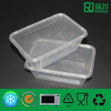 Kitchen Storage Plastic Food Container with Lids 750ml