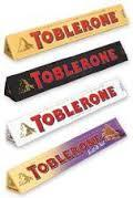 Toblerone Milk, White, Dark, Fruit & Nut 100gr