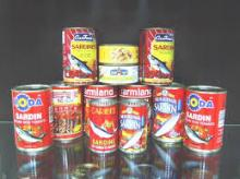 Canned Sardine Fish in Tomato Sauce