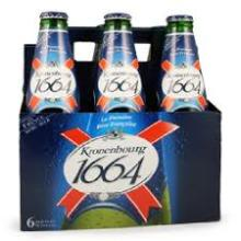 Kronenbourg 1664 Blanc Blue Bottle 25cl
