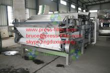 wastewater treatment belt  filter   press