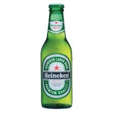 Bottled Beer Heinekens....250ml