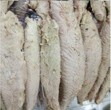 frozen precooked bonito loins to be preserved canned