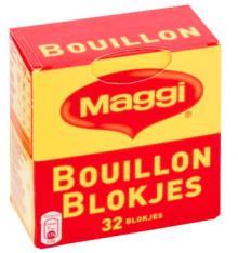Maggi  bouillon   cube