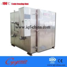 liquid nitrogen batch cabinet quick freezer
