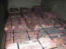 Copper ingot 99.99% 99.98% 99.95% high grade