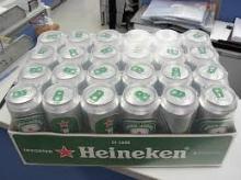250ml Heinekens bottles beer from netherlands