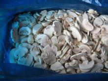 sliced mushrooms/champignons