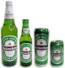 Branded Bottled/ Canned Beer Heinekens