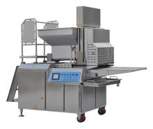 Burger press machine