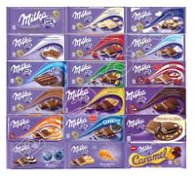milka brands all flavors