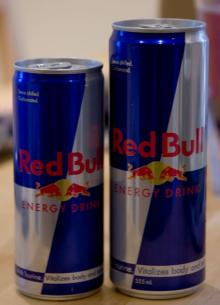 High Quality : Austria Original RedBull Energy Drink / Blue / Silver / Extra ava