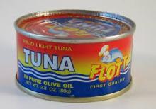 Canned tuna 185g/130g 170g/120g