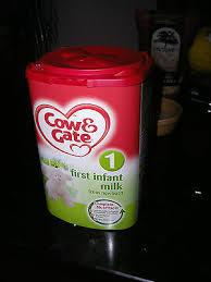 COW & GATE BABY MILK 900G for sale