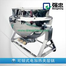 QJ series tilting jacketed kettle