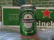 Kronebourg and Heineken Beer/;